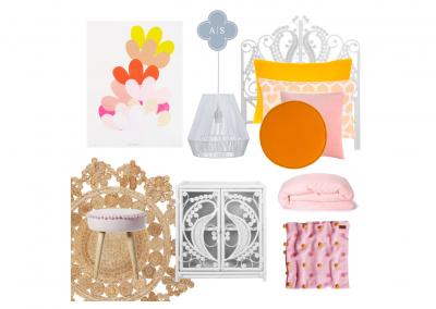 Amanda Smythe Interior Stylist eDesign Mood Board Whimsy Girl's Bedroom